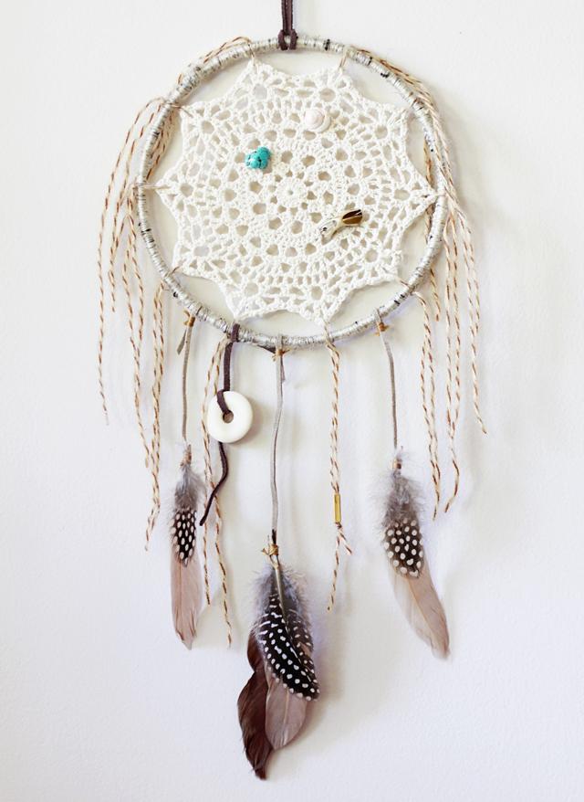 ... tricotEe et style de jersey: DIY: Crochet Doily Dream Catcher