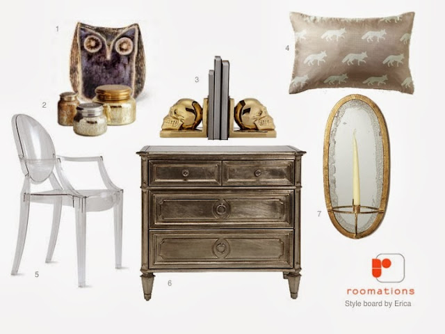 Roomations Halloween Chic Style Board