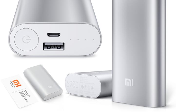 Xiaomi Powerbank 5200 mAh dengan Proteksi Overcharge & Over-discharge