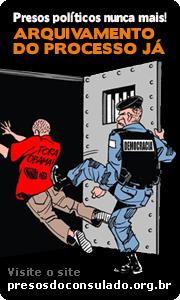 Justiça arquiva inquérito policial contra os 13 manifestantes do consulado americano
