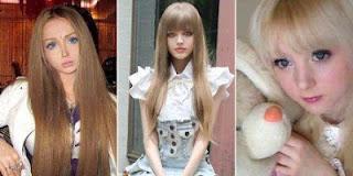 Wanita Cantik Mirip Barbie