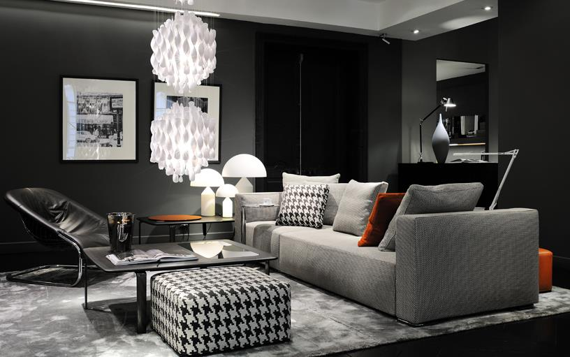 bonnes affaires d co d co noir et blanc c est la classe. Black Bedroom Furniture Sets. Home Design Ideas