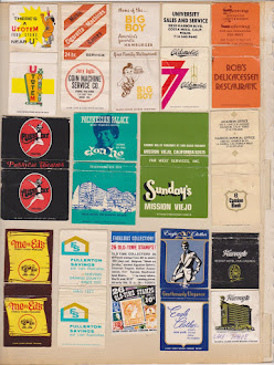 60's era matchbooks