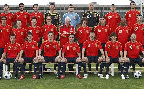 Daftar Pemain Timnas Spanyol