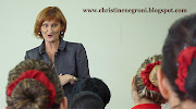 Catherine Baird SVP for cabin crew training with new recruits (emirates catherine baird)