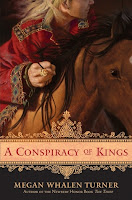 Book cover of A Conspiracy of Kings by Megan Whalen Turner