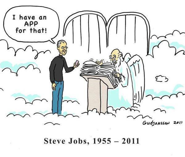 Steve Jobs In Heavens