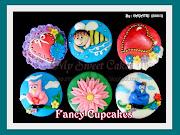 2D Cupcakes