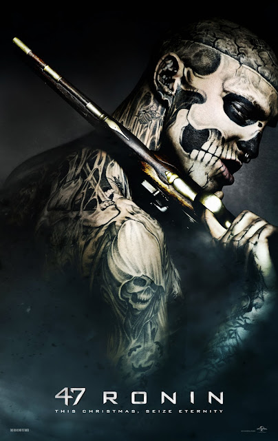 47 Ronin Skull Tattoo Character Poster in HD