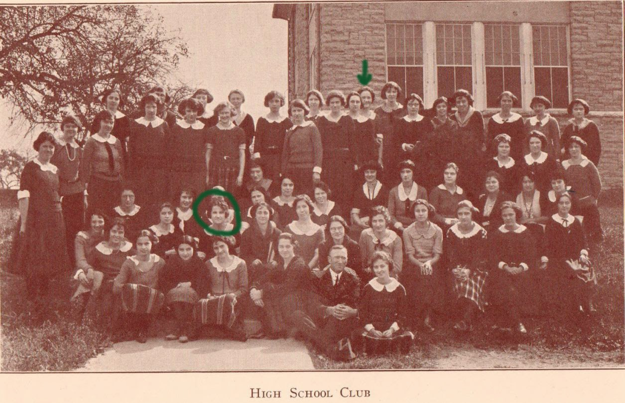 High School Club Harrisonburg Normal School 1923