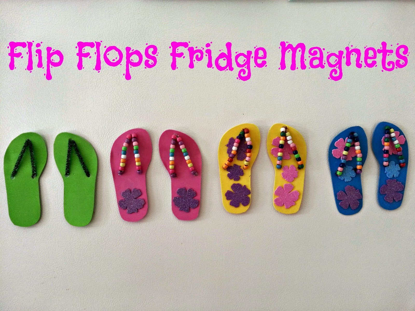 If these cheerios could talk flip flops fridge magnets for Flip flops for crafts