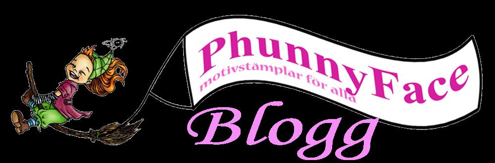 My PhunnyFace stämpel Blogg