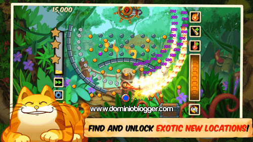 Completa los desafios del juego Treasure Bounce