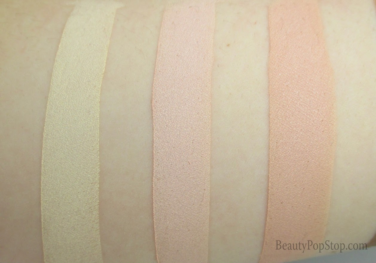 rcma highlight and contour palette swatches