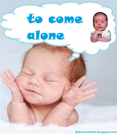 to come  alone