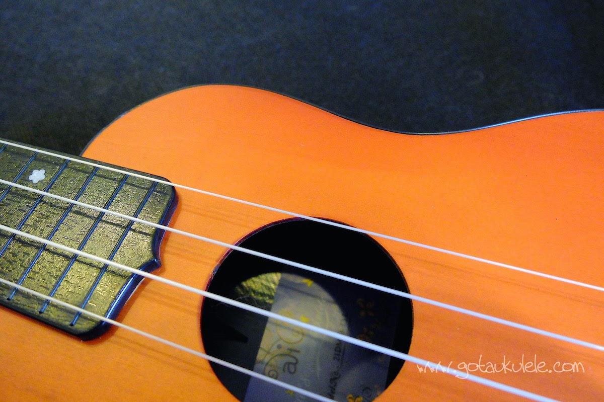 Alic Soprano ukulele sound hole