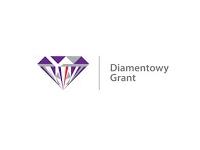 Logo programu Diamentowy Grant