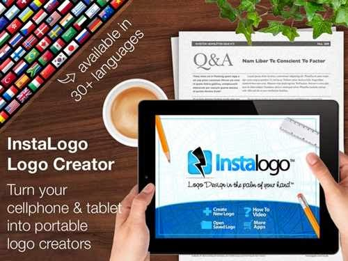 aplikasi android untuk membuat logo