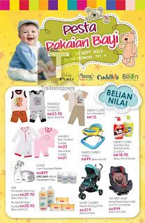 KL Sogo Baby Kids Apparels Fair Sale 2013
