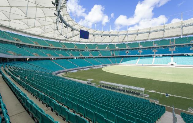 Arena Fonte Nova modernizada, conforto e segurança aos torcedores