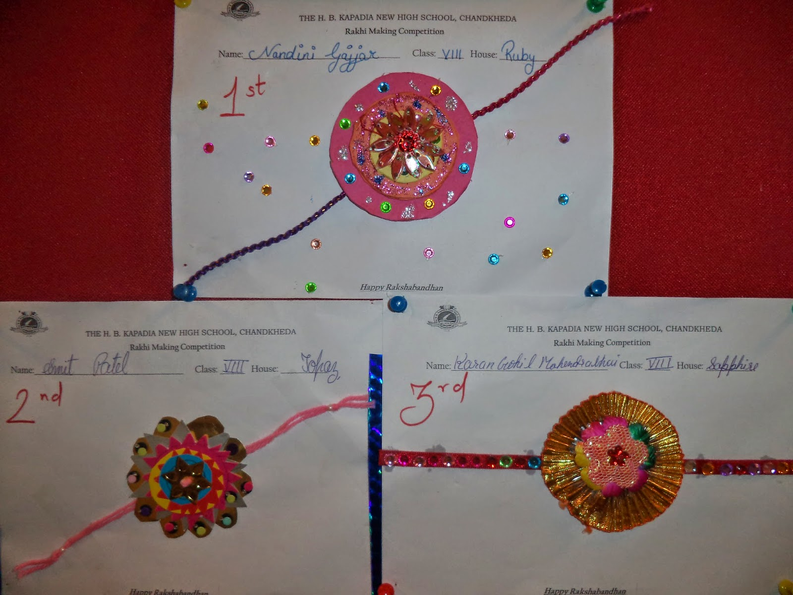 Rakhi making competition photos Online Shopping for