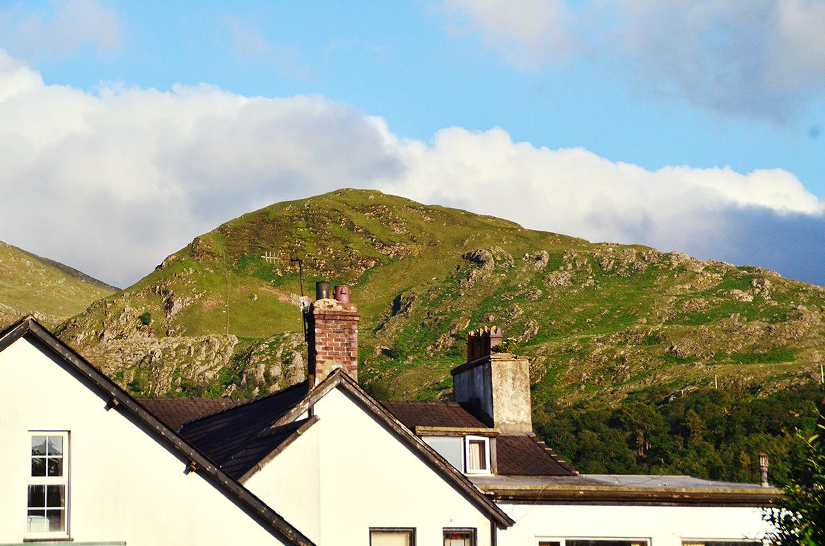 Mount Snowden from Llanberis