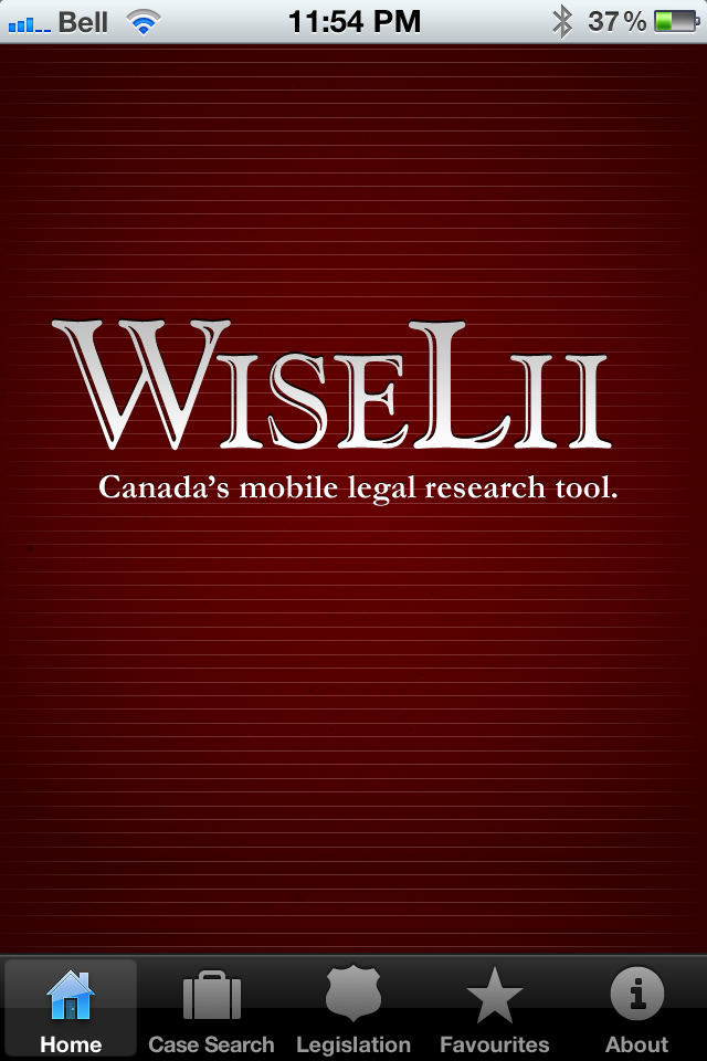 WiseLii, Canada's Free Mobile Legal Research Tool