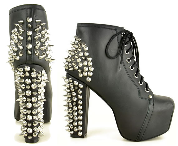 studs and spikes and everything nice jeffrey campbell shoes. Black Bedroom Furniture Sets. Home Design Ideas