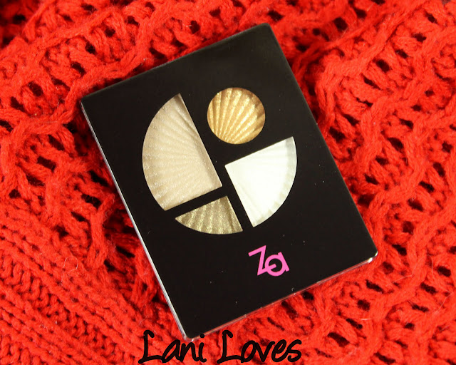 ZA Impact-Full Eyes Groovy - GD241 Eyeshadow Swatches & Review