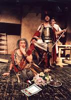 Театр им. Моссовета. Гоша Куценко и другие в спектакле «Бог»