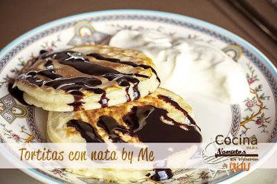 Tortitas con nata 2
