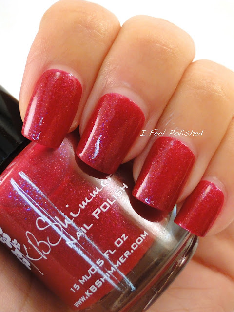 KBShimmer Every Nook & Cranberry with Top Coat