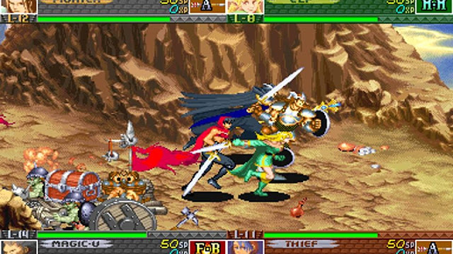 Screenshot of Capcom's video game Dungeons & Dragons: Chronicles of Mystara