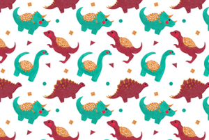 The Dinosaurs Pattern by Haidi Shabrina