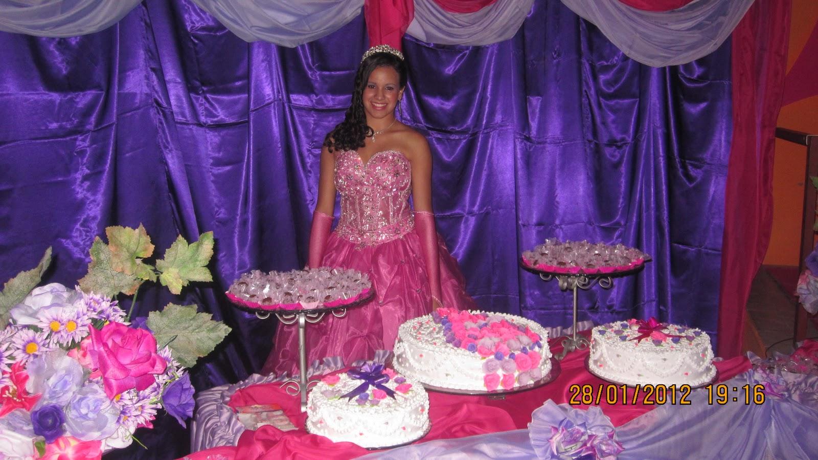 Moniquinhaquinquinha Festa De 15 Anos De Juliana Filha De Nossa
