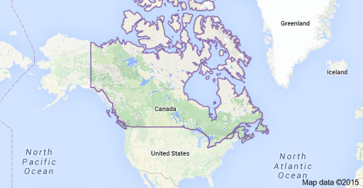 Where Is Canada Blogstuffu - Us canda greenland map with counties