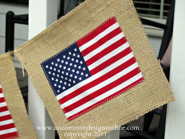 Burlap Ideas for Summer