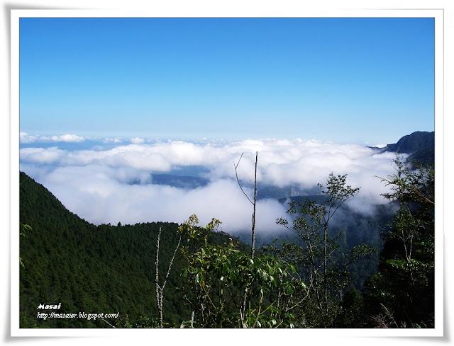 宜蘭太平山國家森林遊樂區-雲海