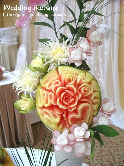 watermelon carving for baby shower. Fruit Carving Arrangements and