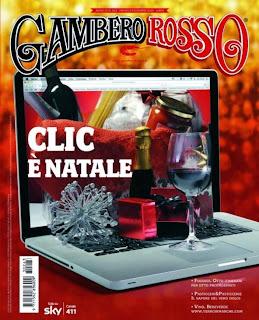 """Copertina del """"Gambero Rosso"""" di dicembre 2013"""