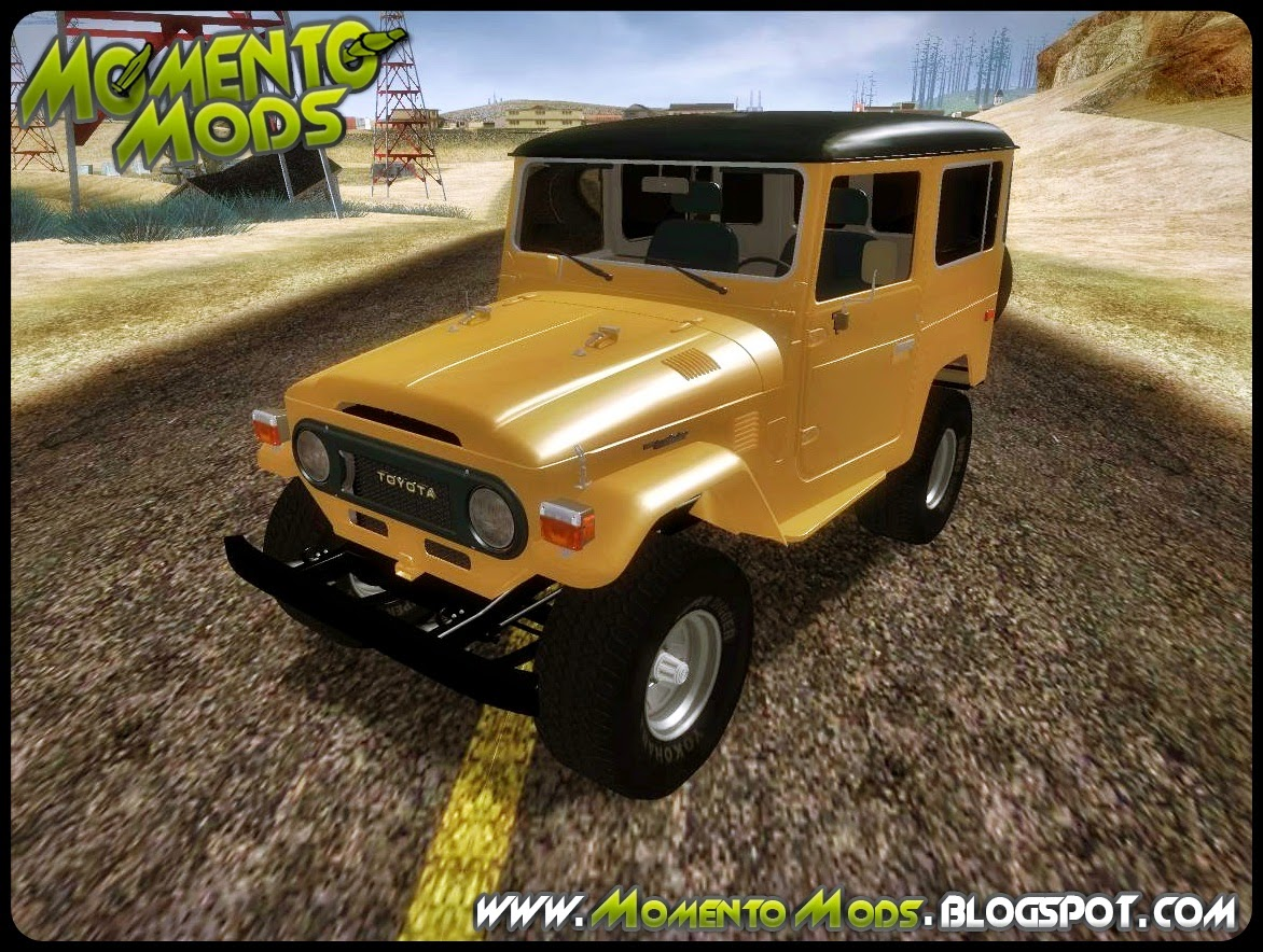 GTA SA - Toyota Land Cruiser FJ-40 1978