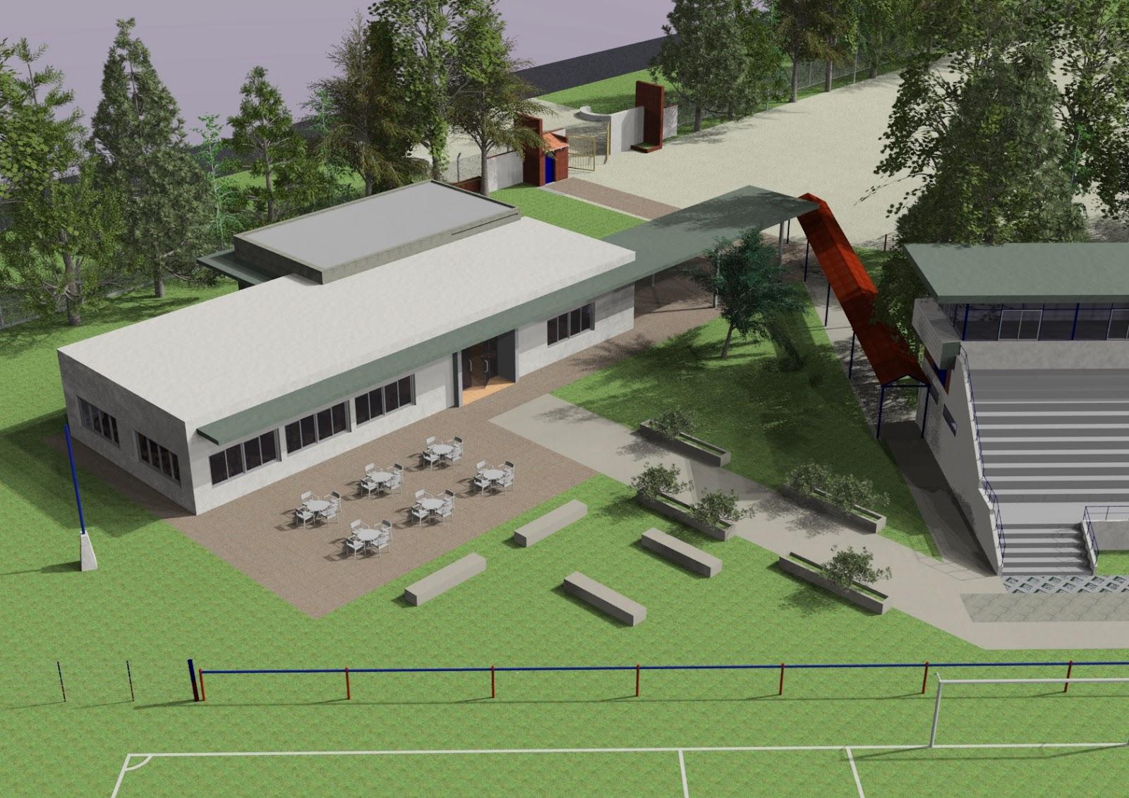 Av arquitectura anteproyecto para comedor estudiantil en for Comedor estudiantil