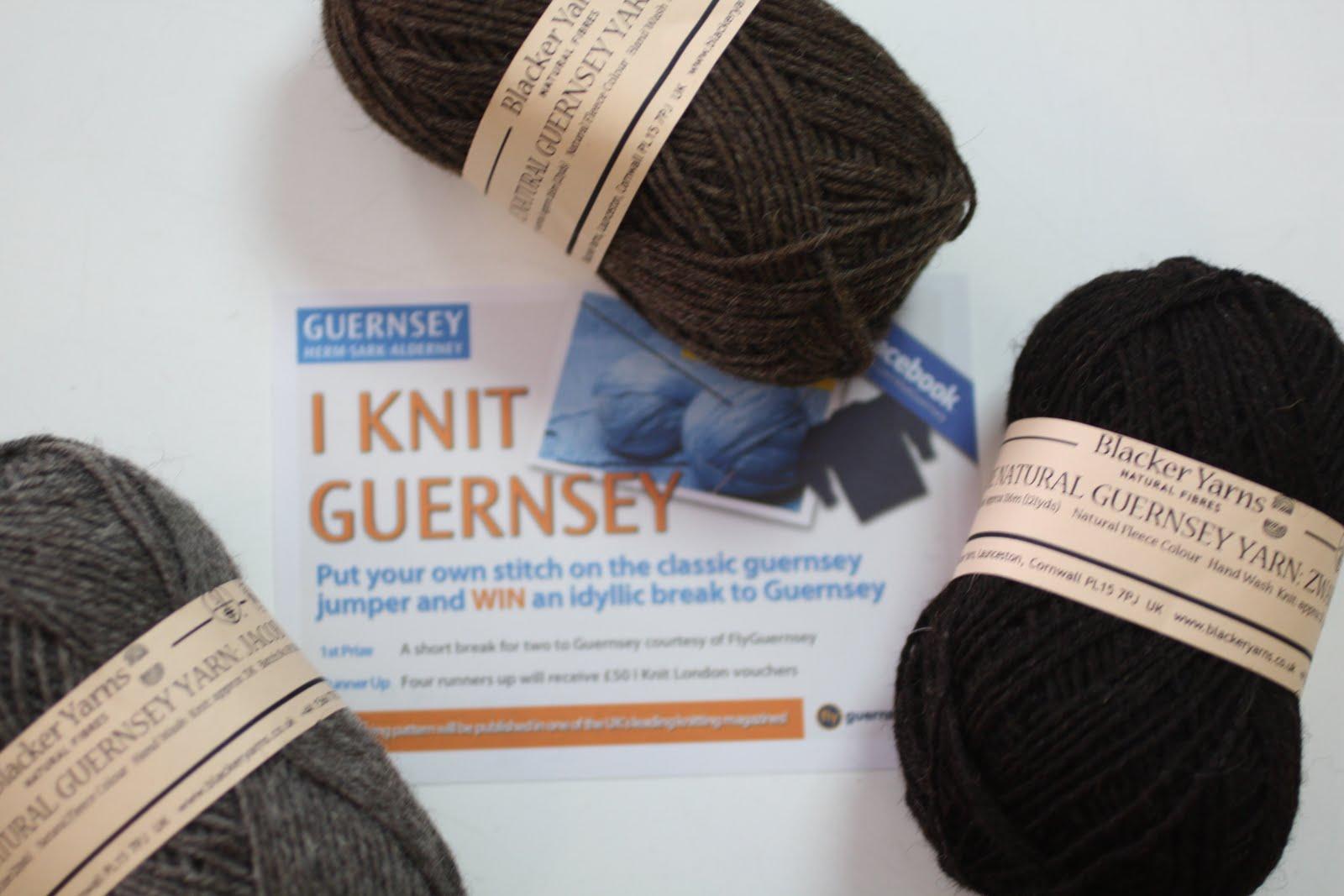 Knitting Events London : I knit london guernsey finalists chosen