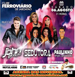 CLUBE FERROVIÁRIO DE JABOATÃO - BANDA SEDUTORA
