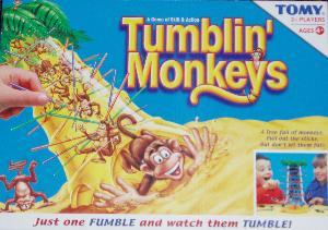 Tumblin' Monkeys box.