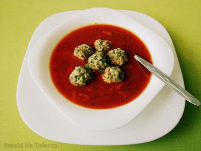 zupa bardzo pomidorowa z burakiem