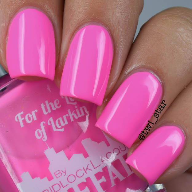 Gridlock Lacquer Buffalo Summer 2015 Collection For The Love of Larkin
