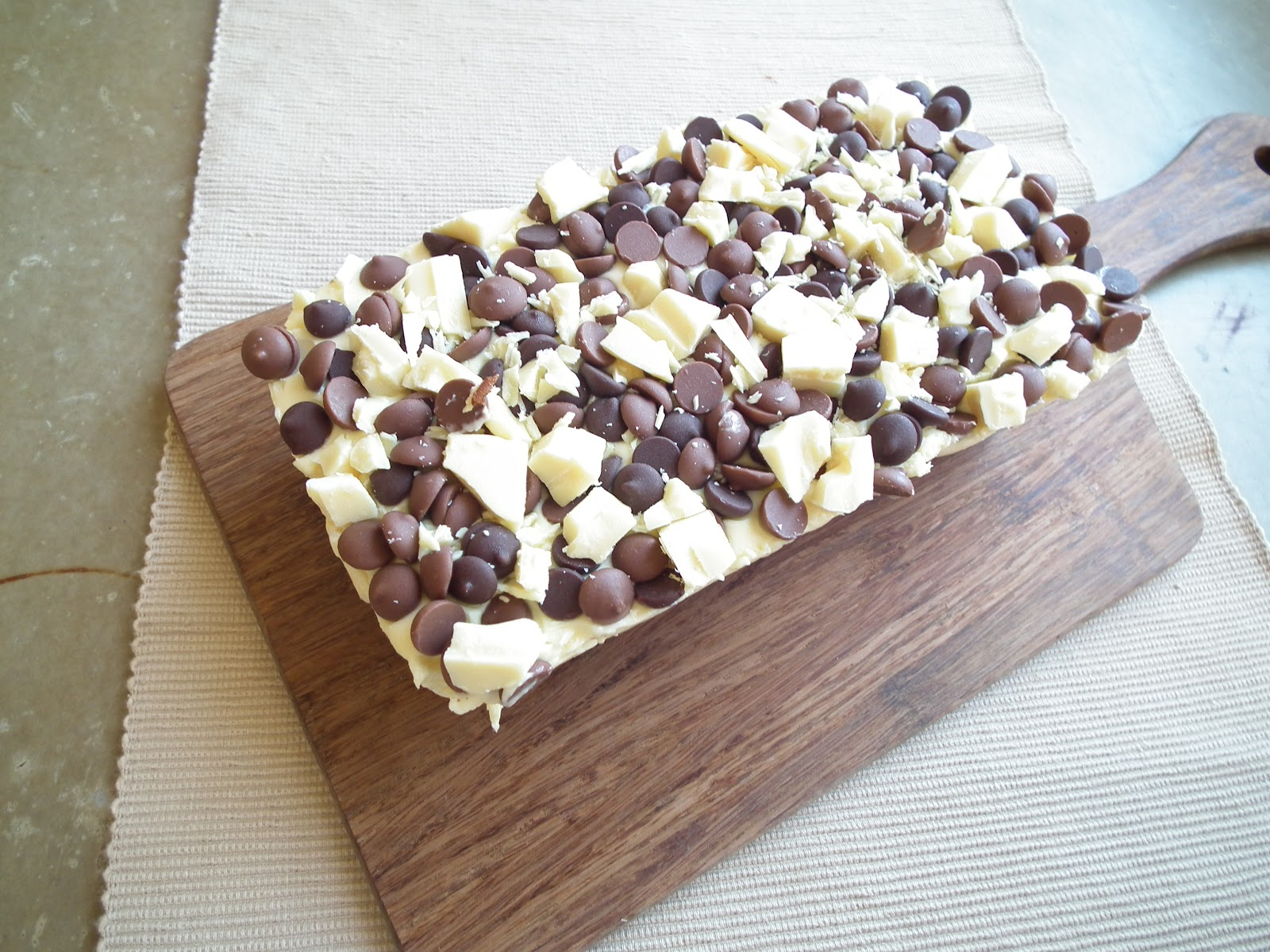 altered a recipe for Rum n Raisin slice from my Nestle coo..