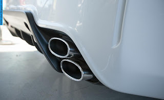 Honda civic car 2013 exhaust - صور شكمان سيارة هوندا سيفيك 2013