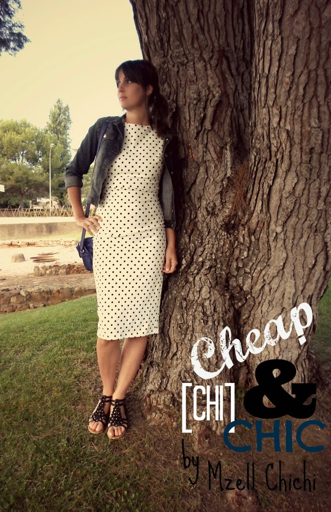 Look-Retro-Robe-Pois-Zara